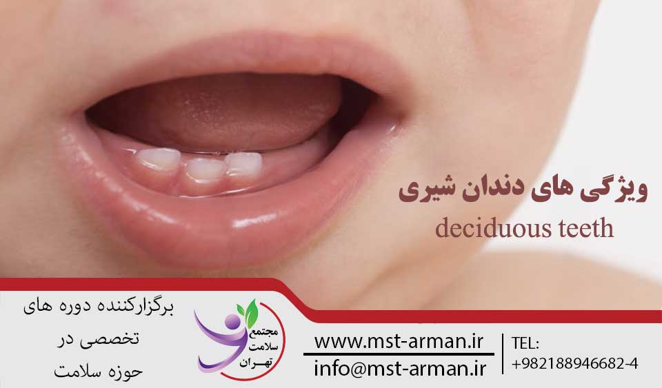 دندان شیری | مجتمع سلامت تهران